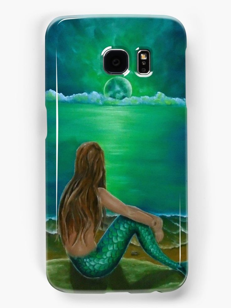 Galaxy Case,  mermaid,green,fantasy,cool,beautiful,unique,trendy,artistic,unusual,accessories,for sale,design,items,products,ideas,redbubble