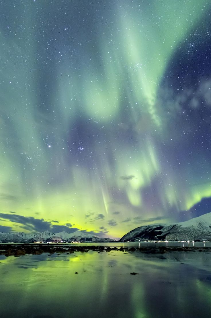We have been thinking about where we would most like to celebrate the winter solstice... Northern Lights - Reykjavik, Iceland