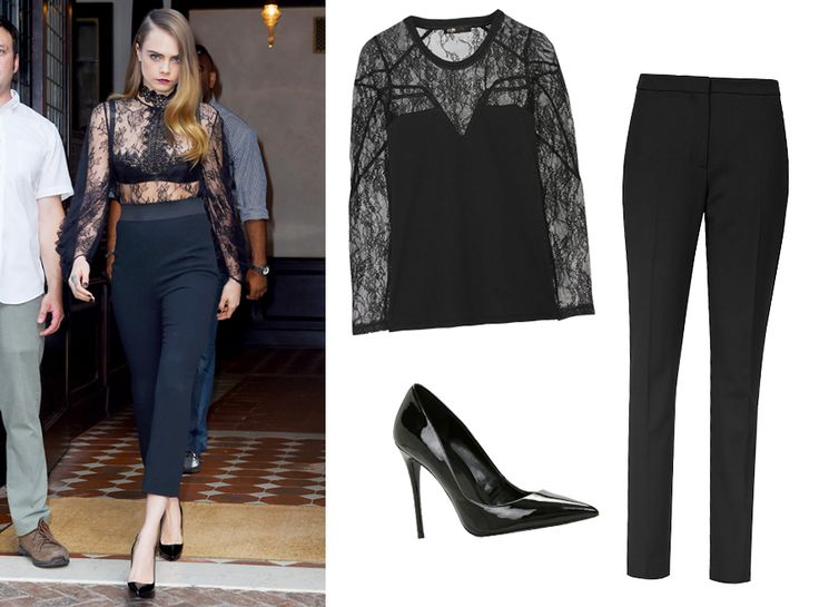 Celebrity-Inspired Takes on the Biggest Fall 2015 Fashion Trends - Trend: Lady Danger  from InStyle.com