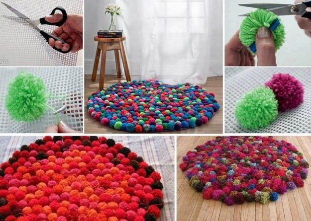 Tappeti di lana fai da te: tante idee creative [FOTO] - NanoPress Donna