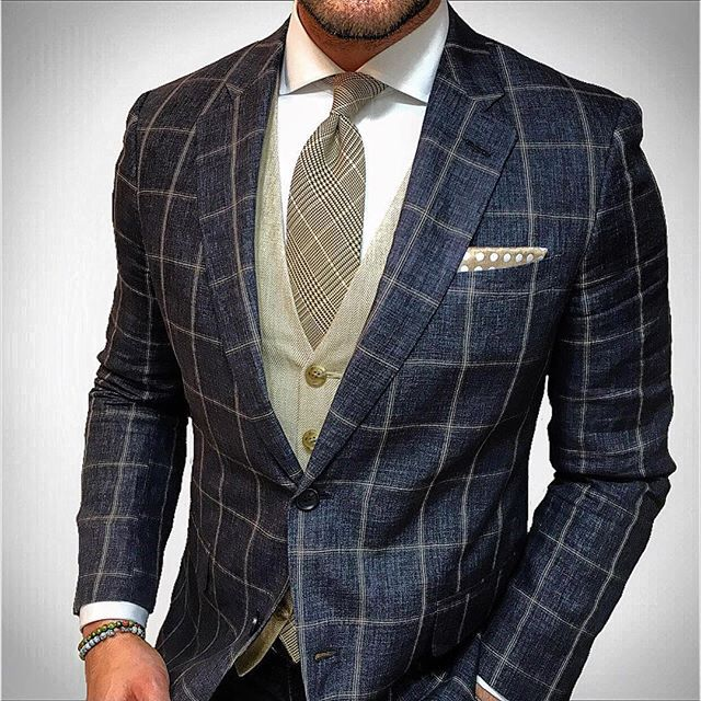 Would definitely change the tie, but I like.