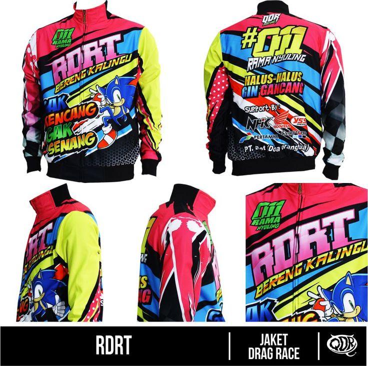 Jaket Racing - RDRT Bahan : Lotto Printing: Sublimation  Model: Jaket Drag Race Bahan dan Pola yang nyaman dipakai sehari hari, motif dan hasil printing yang tajam, cerah dan tidak luntur.  Fast respon  WA/Sms no call: 081222970120  PIN BB : D5443117