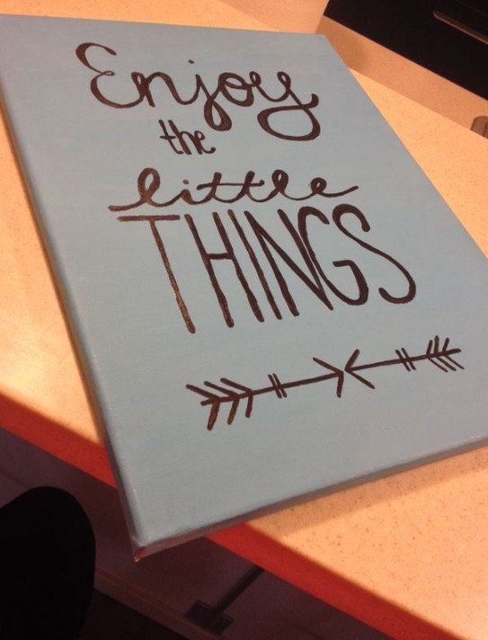 The Little Things Canvas Art by Spool1068 on Etsy