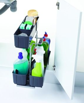 Pull Out for Under Sinks, Cleaning Agent