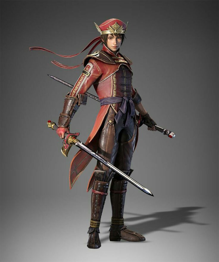 DW9: Lu Xun with his Swallow Swords & his outfit that was reminiscent of Dynasty Warriors 4 & 5.