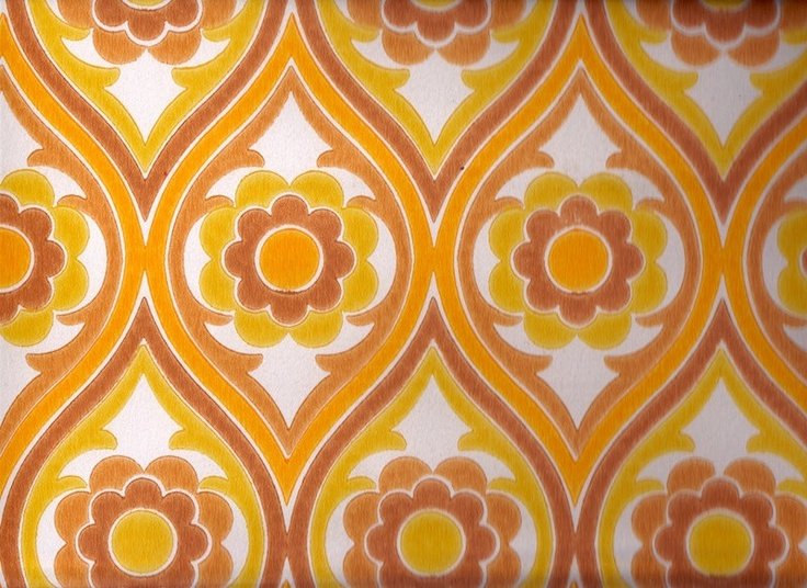 1970s vintage wallpaper retro - photo #29