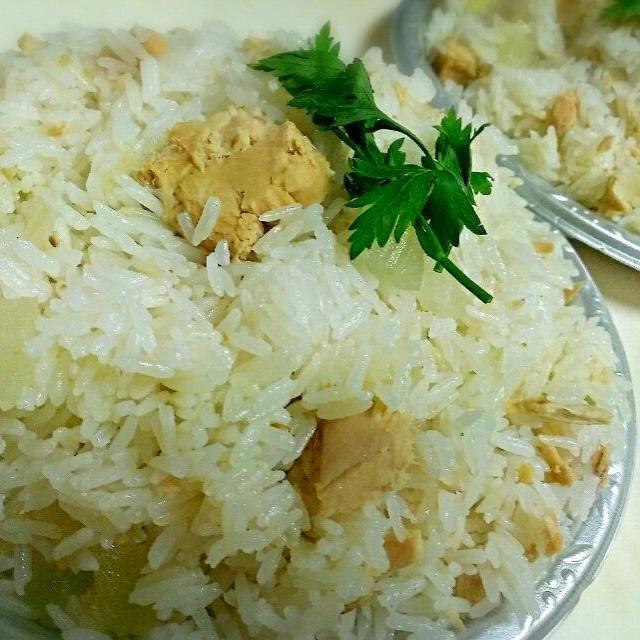 ジャスミンライスで、ナンプラーと落花塩をきかせて♪ - 8件のもぐもぐ - 冬瓜とツナの炊き込みご飯 エスニック風 by iumico
