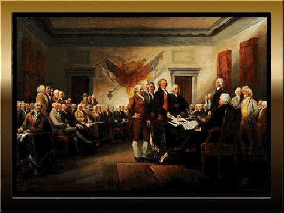 The Presentation of the Declaration of Independence, July 4, 1776