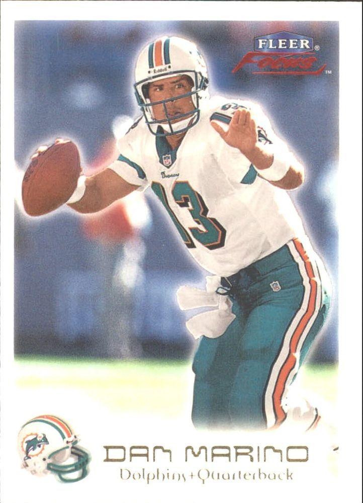 1999 Fleer Focus #97 Dan Marino Team: Miami Dolphins #MiamiDolphins