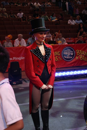 ringling brothers circus in anaheim 2008. by brady_johnson, via Flickr