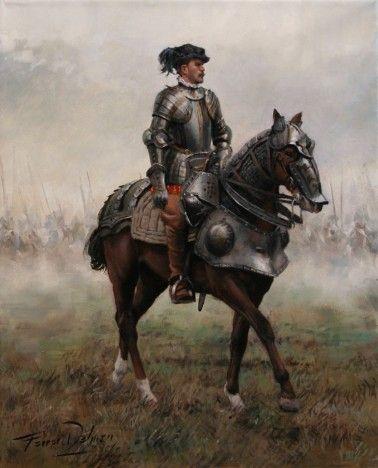 El cuadro de Hernán Cortés, por Ferrer-Dalmau