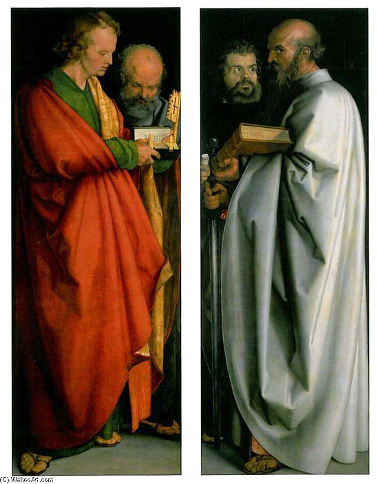 'der vier apostel', öl auf tafel von Albrecht Durer (1471-1528, Germany)