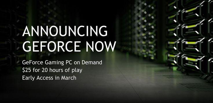 NVIDIA n'annonce pas de GeForce GTX 1080 Ti, mais un GeForce Now pour Mac/PC... trop cher