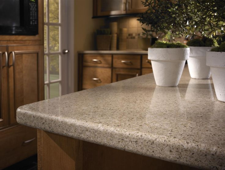 Silestone Ivory Coast Standard Edge Kitchen