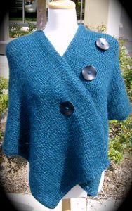 Summer Style: 12 Knit Poncho Patterns from @AllFreeKnitting