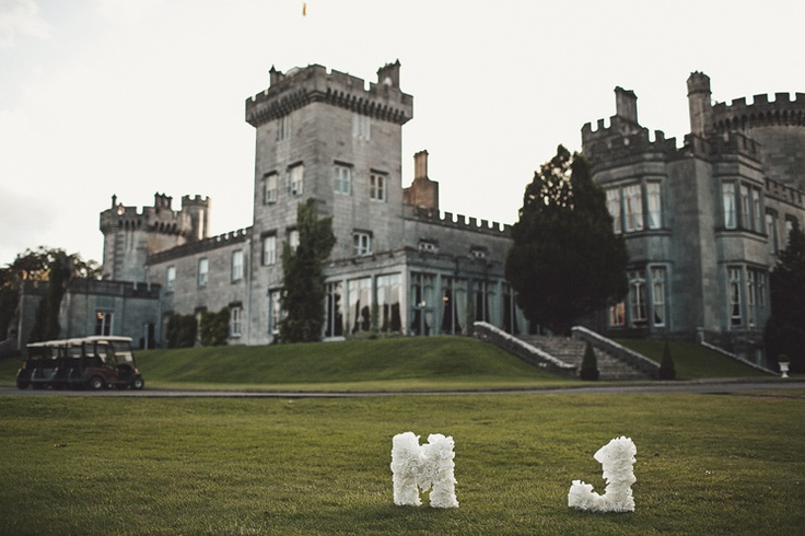Wedding idea in Dromoland castle