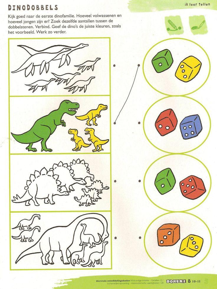 WB - Dinodobbels: tellen