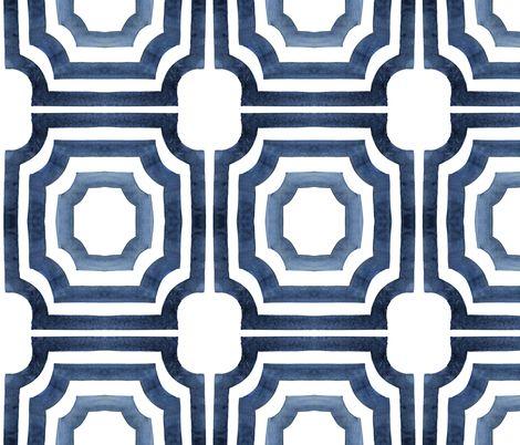 """Spoonflower - custom wallpaper - cest la vie - 1 standard roll (24""""x144"""") for $60"""