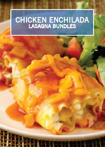 Part enchilada casserole and part lasagna, these individual roll-ups ...