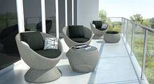 2014 New Design Outdoor Furniture Rattan Wicker Comfort Egg Chair Set(China (Mainland))