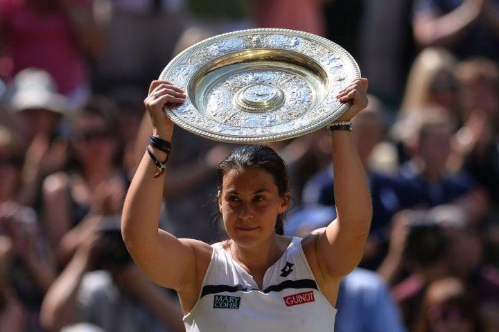 Marion Bartoli reine de Wimbledon