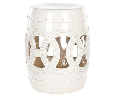 Табурет - глазурованная керамика, Ø33х43 см
