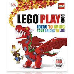 LEGO Playbook! Featuring more than 200 different LEGO builds, this fun guide encourages readers to use their imagination and play in new ways, creating amazing LEGO models of their very own. Featuring a mixture of simple, medium, and complex models, LEGO Play Book will teach builders tips and tricks to get the most out of their blocks. All-new models along with all-new photography bring LEGO bricks to life.  Get it!: http://www.mastermindtoys.com/LEGO-Play-Book.aspx