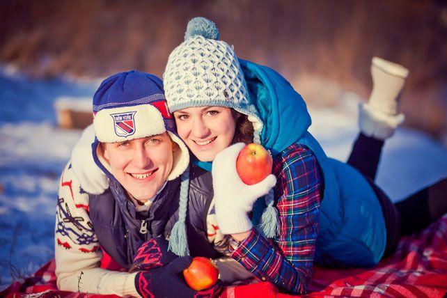 5 идей для зимней фотосессии love story