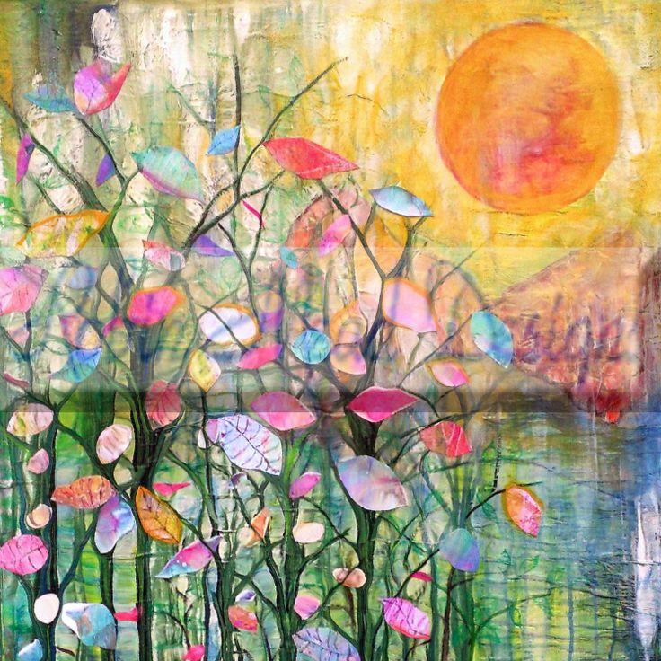 A Good Morning 8 x 8 or 8 x 10 flowers art by RobinMeadDesigns