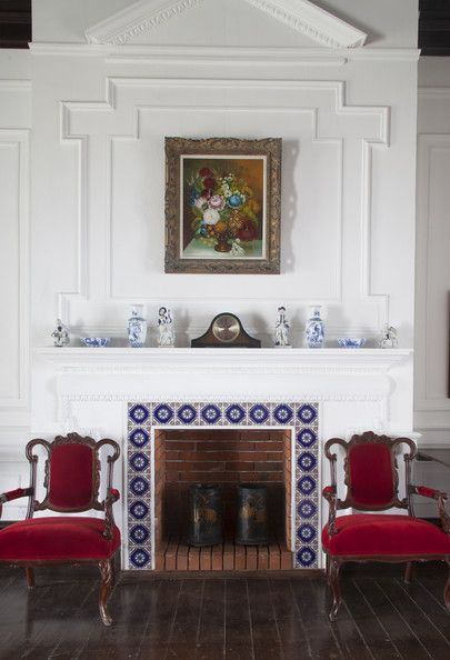1800s Country Homes: 1000+ Ideas About Tile Around Fireplace On Pinterest