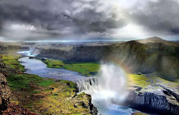 Iceland - Fire and Ice offers a stunning portrait of this island of extremes, where some of Europe's biggest glaciers cozy up to some of the continent's hottest volcanic springs. [8] Every season has its own unique charm and there are always opportunities to experience new things, discover beauty and be mesmerized by the freshness and colours of nature.
