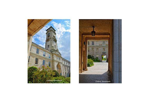 2 x Nottingham University Photography by OxfordDownloads on Etsy