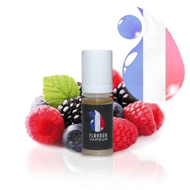 Paris Range Red Fruits E-Liquid