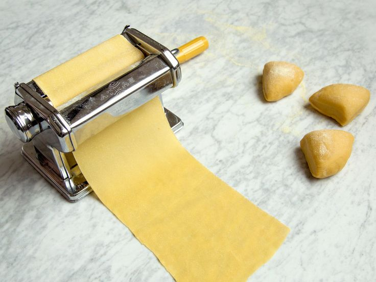 Basic Pasta Dough | This basic pasta dough recipe from Mario Batali is easy and superversatile. It's all you need to make fresh pasta for dishes like homemade ravioli and lasagna.