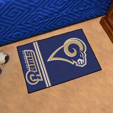 """Los Angeles Rams Uniform Inspired Starter Area Rug Floor Mat 20"""""""" X 30"""""""""""