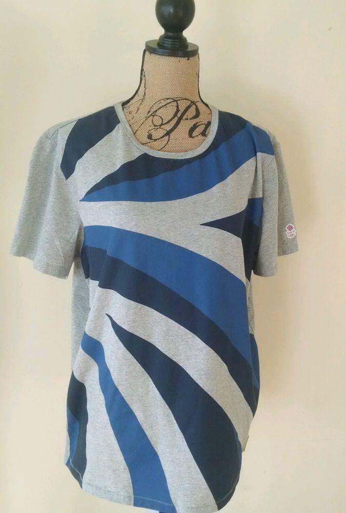 Adidas Stella McCartney Team GB Olympics Blue and Gray Shirt Size XL XLarge #adidasbyStellaMcCartney #ShirtsTops