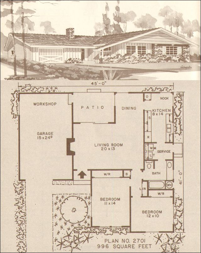 1000 images about ranch house on pinterest downey 1960s ranch style house plans