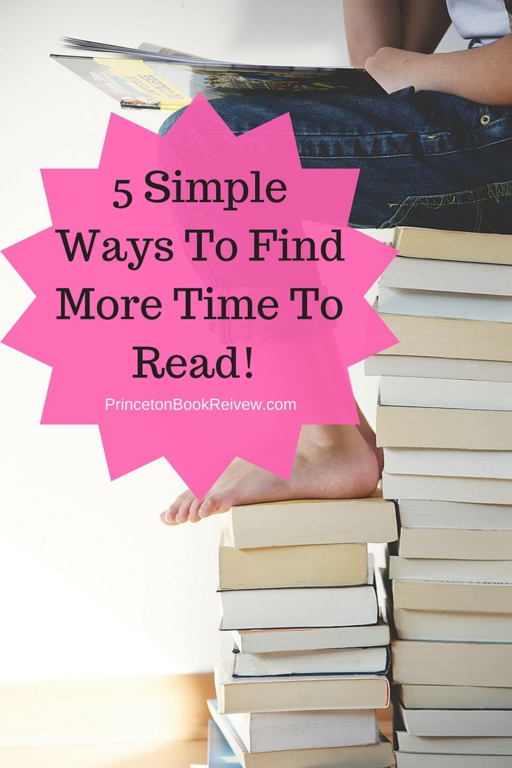 5 Simple Ways To Find More Time To Read!