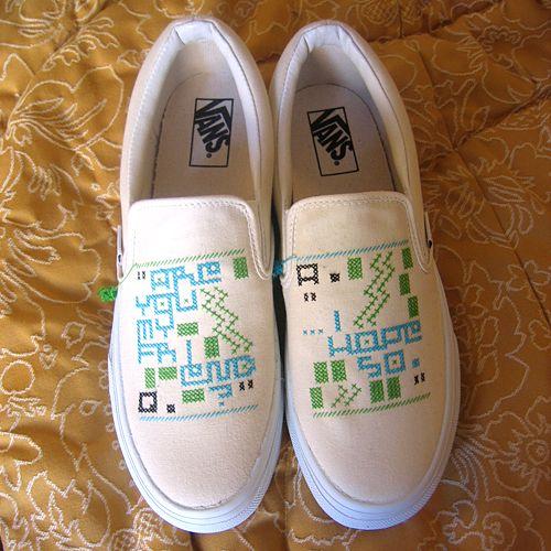 Sneakers Stitch. Delaware, 2005.