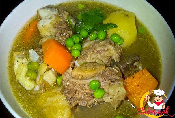 Resep Hidangan Sayuran, Vegetable Clear Soup, Club Masak