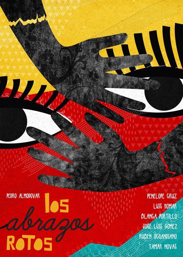 Pedro Almodovar - Movie posters by Marija Marković, via Behance