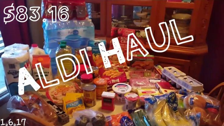 1st Aldi Haul of 2017 ☆ with PRICES!