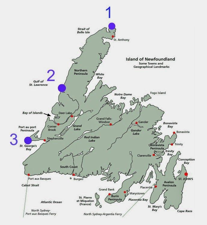 I'm gradually writing up all the wonderful things we saw and did in Newfoundland and today I wanted to share with you three of the bes...