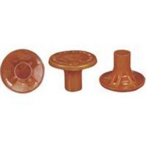 Mutual Industries 14640-4 Osha Rebar Caps, Box of 100