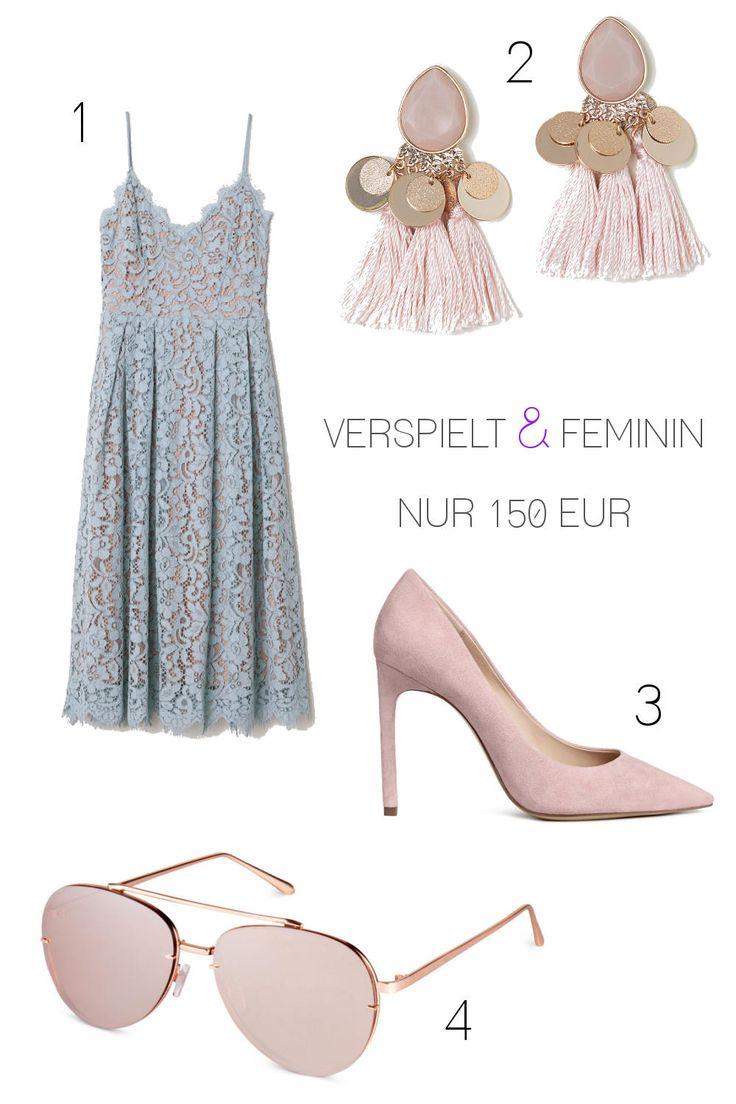 2 günstige Hochzeitsgast Outfits