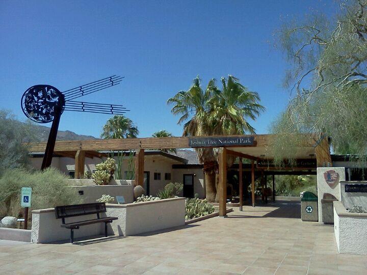 Oasis Visitor Center, Joshua Tree National Park