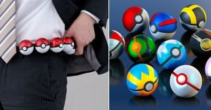 Pokeball belt. Shut up and take my money!