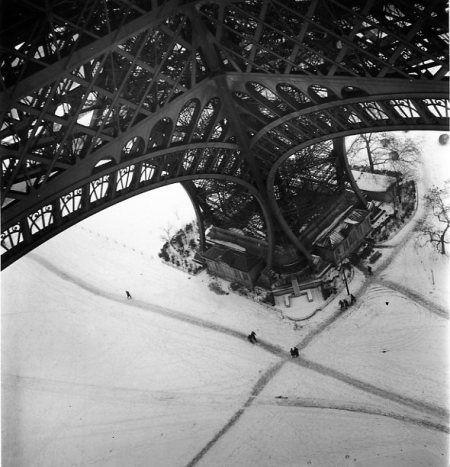 'Tour Eiffel, hiver', Robert Doisneau