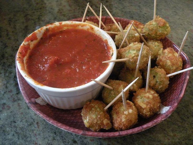 Italian fried olives