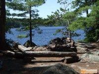 campsite at Maple Lake, Algonquin